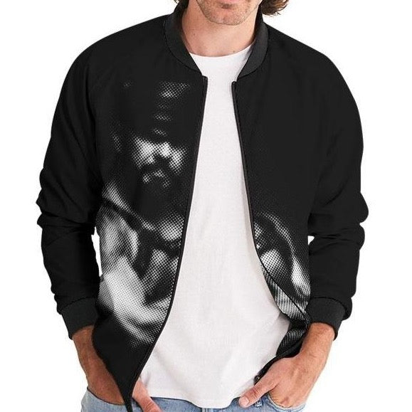Leather Series 2 Men's Bomber Jacket