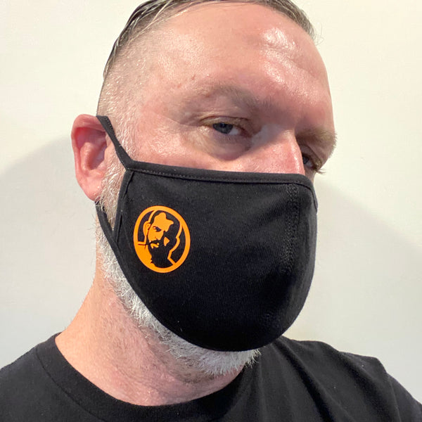 Rubber Man Icon Face Mask