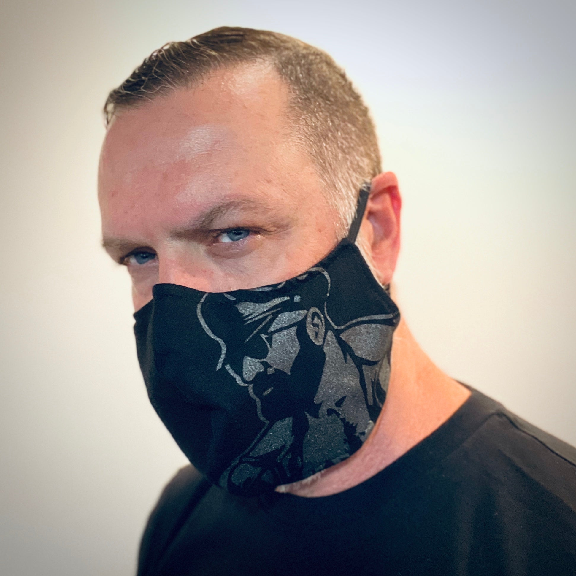 Leather Dad Face Mask