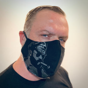 Leather Cigar Face Mask