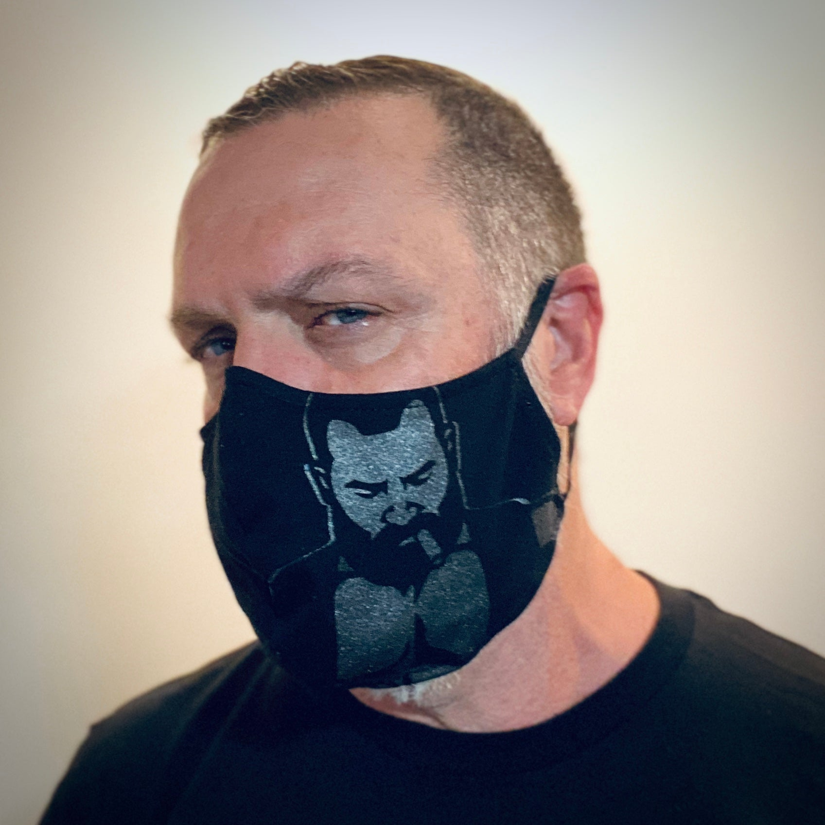 Leather Vest Face Mask