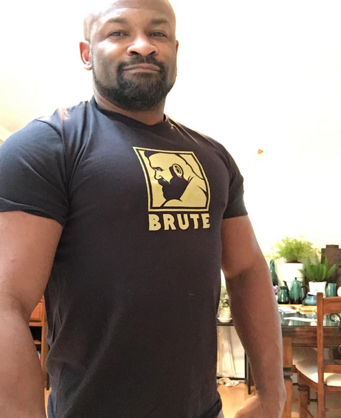 Brute hand printed T-shirt and Tank Top