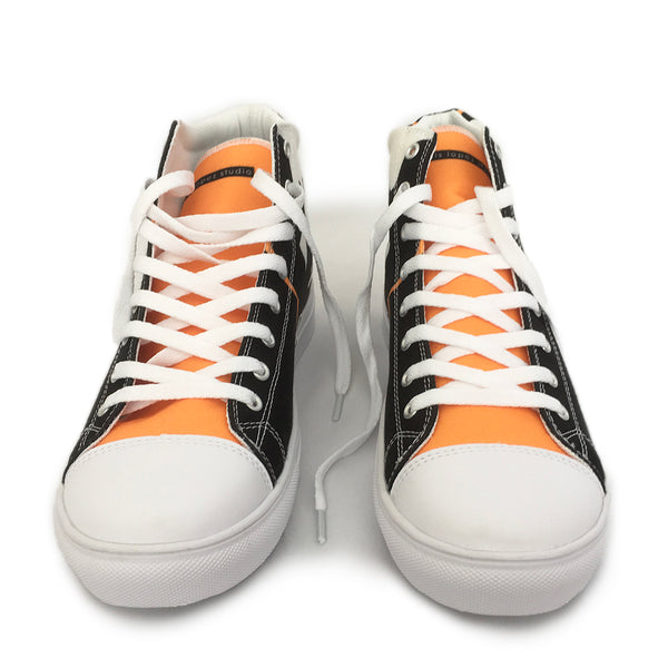 Man Icon Hightop Canvas Shoe