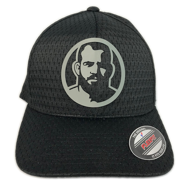 Rubber Man Icon mesh cap
