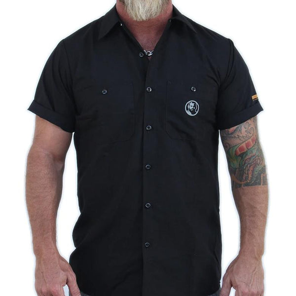 Rubber Man Icon Work Shirt
