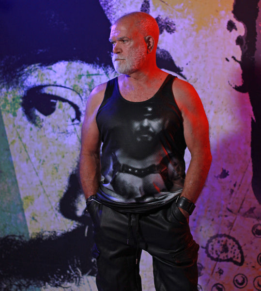 Leather Series 2 Men's Tank