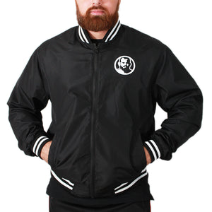 Rubber Patch Lightweight Bomber Jacket