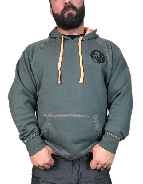 Rubber Man Gray Hoodie