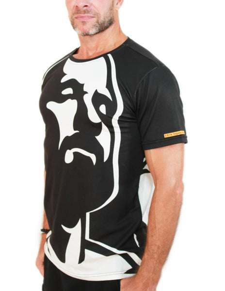 Muscle Beach All over print Men's Tee