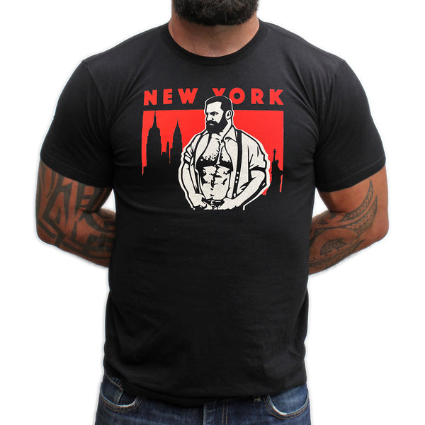New York hand printed T-shirt and Tank Top