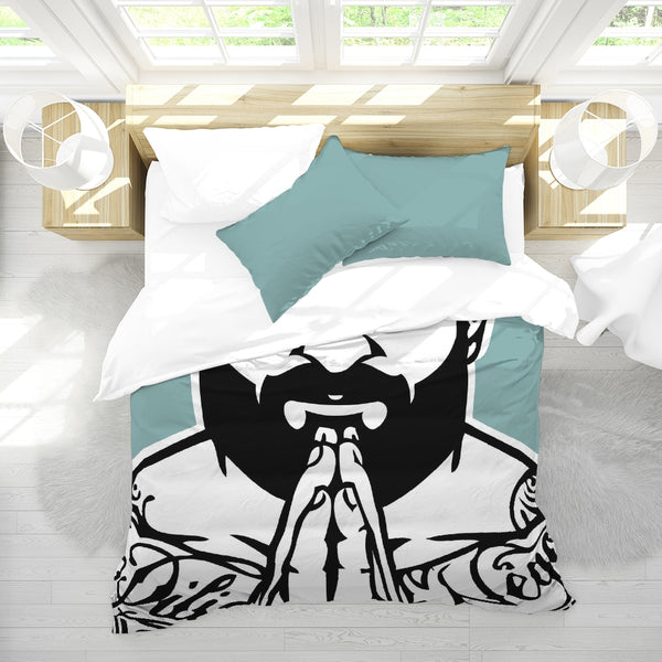 Tattooed King Duvet Cover Set
