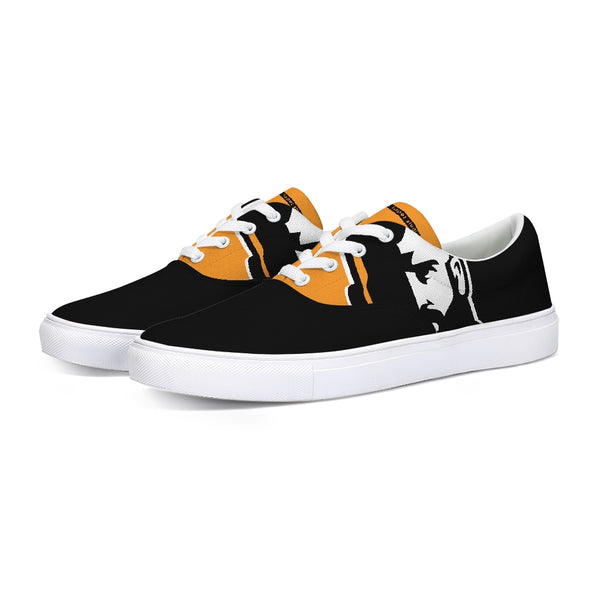 In Shadows Lace Up Canvas Shoe