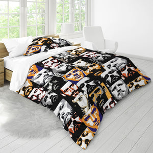 Crowd, Queen Duvet Cover Set