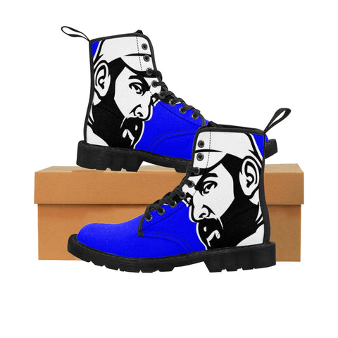 Trucker Blue Men's Boots