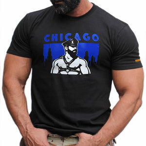 Chicago hand printed Tshirt