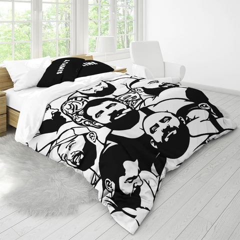 Simply Masculine Queen Duvet Cover Set