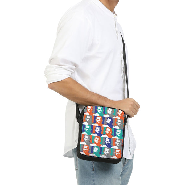 Men of colors Messenger Pouch