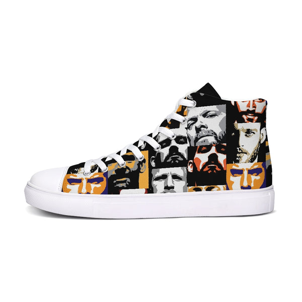 Crowd Hightop Canvas Shoe