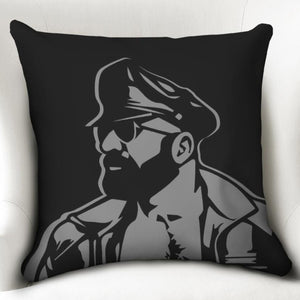 "Leather Dad Throw Pillow Case 20""x20"""
