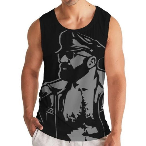 Leather Dad Men's Sport Tank