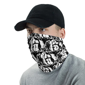 Leather Men Neck Gaiter