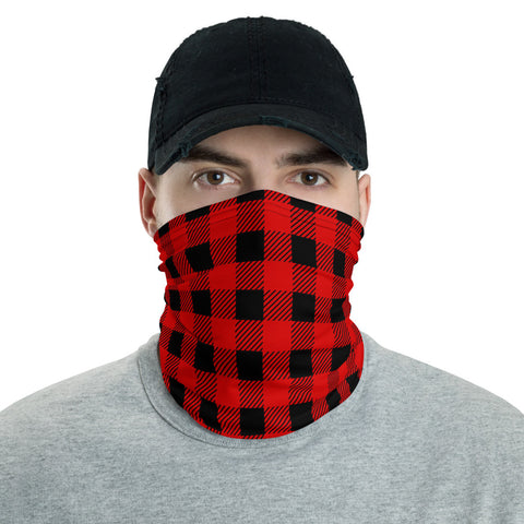 Buffalo Plaid Neck Gaiter