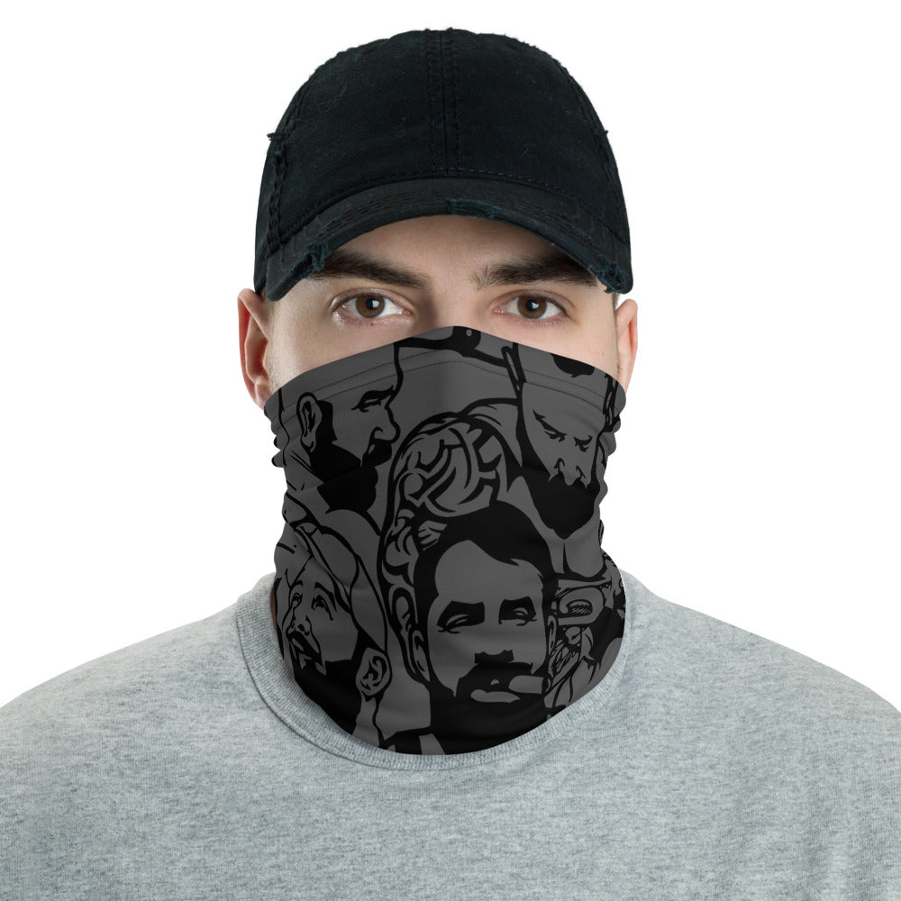 Simply Masculine Gray Neck Gaiter