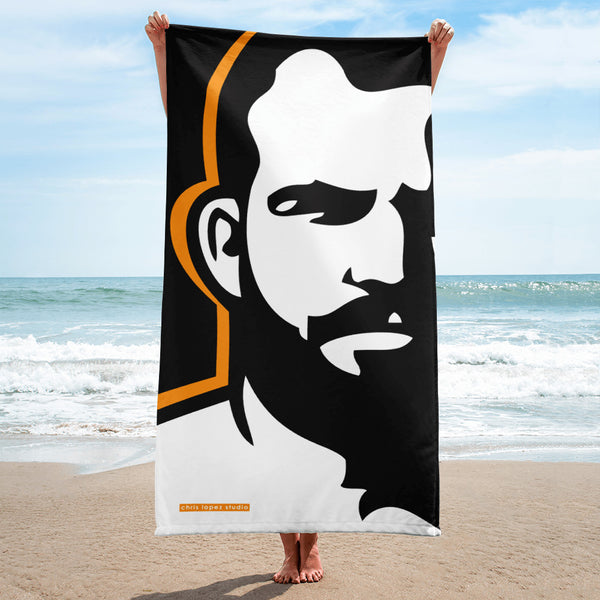 Man Icon Towel
