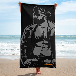 Leather Dad Towel
