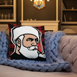 Santa 2020 Close Up Premium Pillow