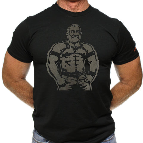 Muscle Dad Hand Printed Tshirt