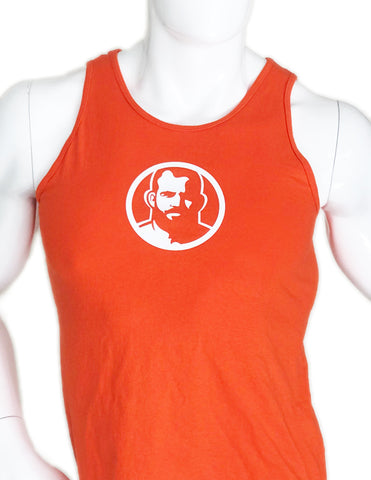 Rubber Man Icon Orange Tshirt