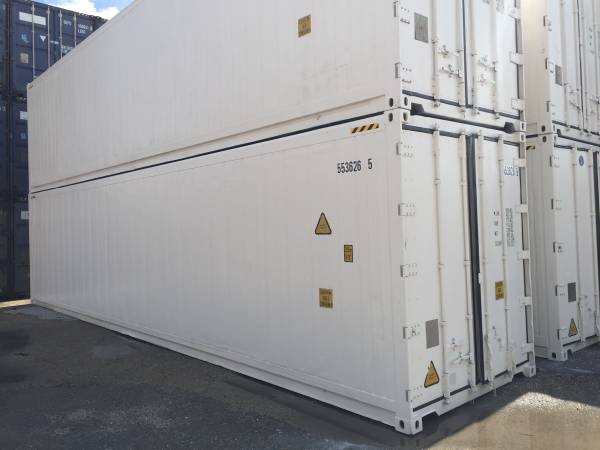 Refrigerated Containers Miami, My Shipping Containers, Cold Storage