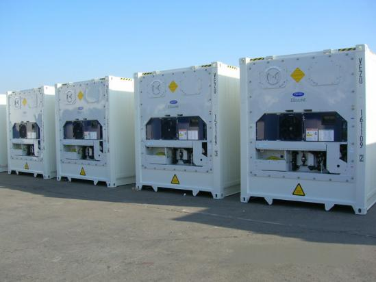 Refrigerated Containers, Cold Storage, My Shipping Containers