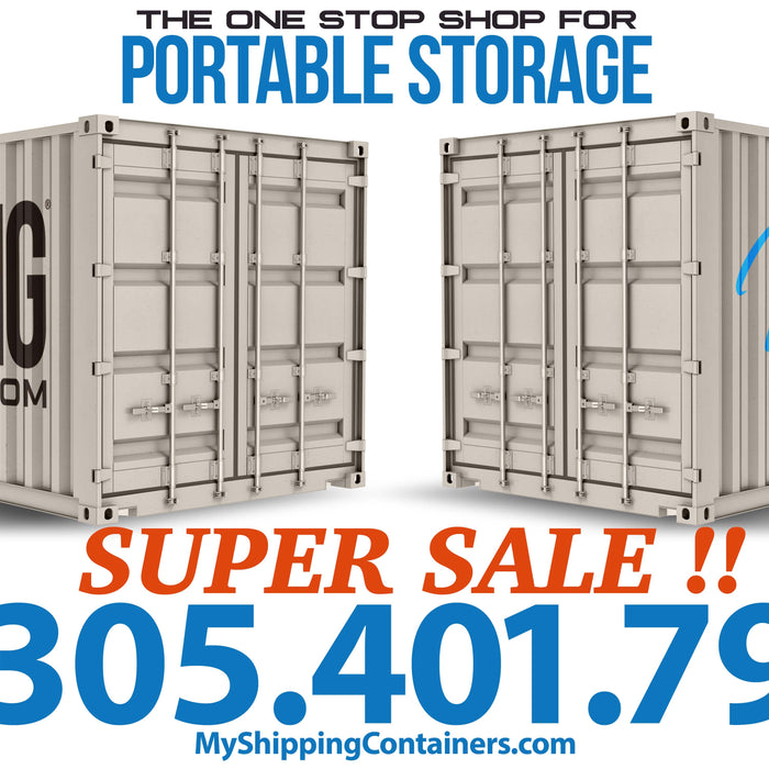 Storage Containers in Miami, Shipping Containers in Miami, My Shipping Containers