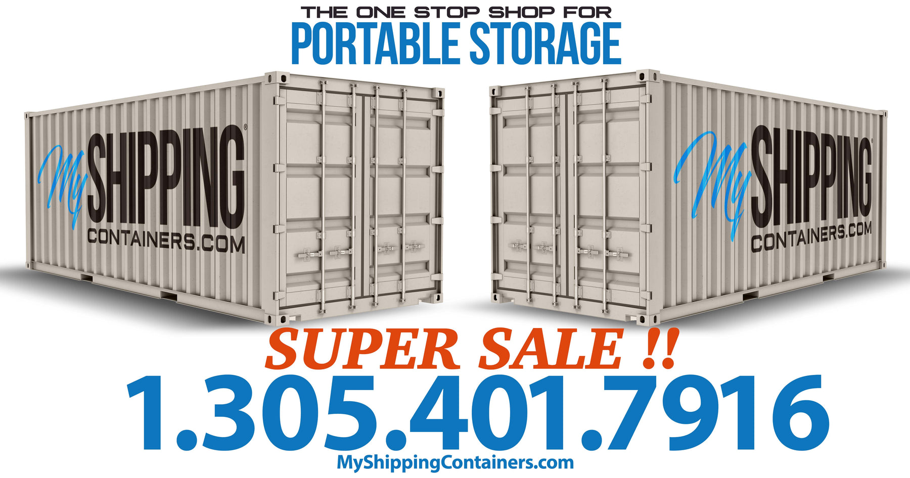 Shipping Containers Miami, Storage Containers Miami, My Shipping Containers