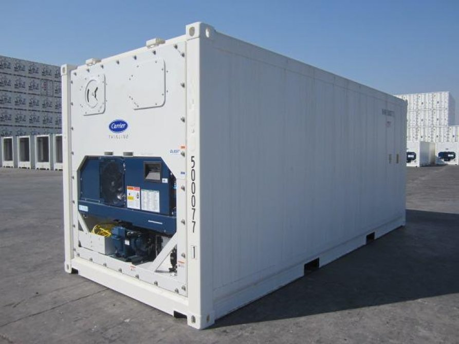 Refrigerated Containers in Miami, My Shipping Containers