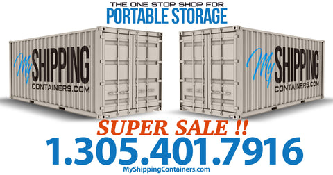 SHIPPING CONTAINERS, STORAGE CONTAINERS, USED CONTAINERS MIAMI CONTAINERS