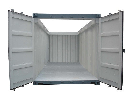 Container with Open-Top - My Shipping Containers, Inc