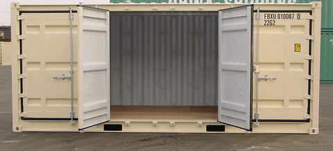 Container with Open-Sides - My Shipping Containers, Inc