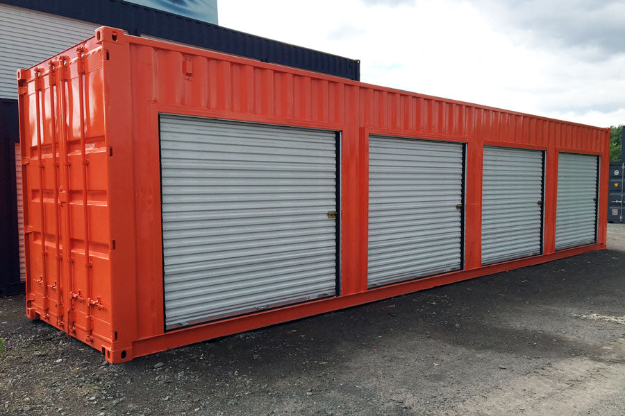 Container with Roll-up Doors - My Shipping Containers, Inc
