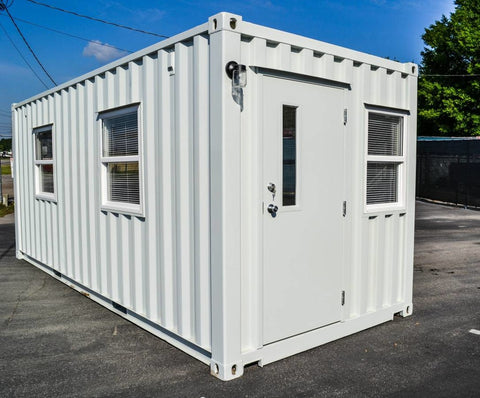 Storage Container Office | Mobile Offices | Portable Offices - My Shipping Containers, Inc