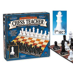 Chess Teacher (styles may vary) [Chess pieces are marked, two players] {6029787}