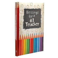 Blessings for a #1 Teacher by Christian Art Gifts (Religion) [Hardcover] NEW