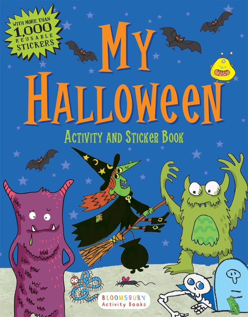 My Halloween Activity and Sticker Book by Bloomsbury (112 pages ...