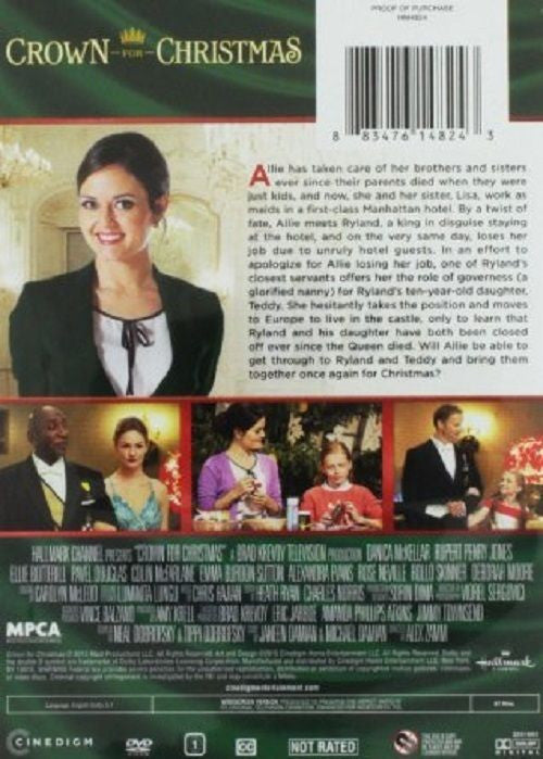 Crown for Christmas (Unrated/DVD) Studio: Hallmark [TRAILER INSIDE ...