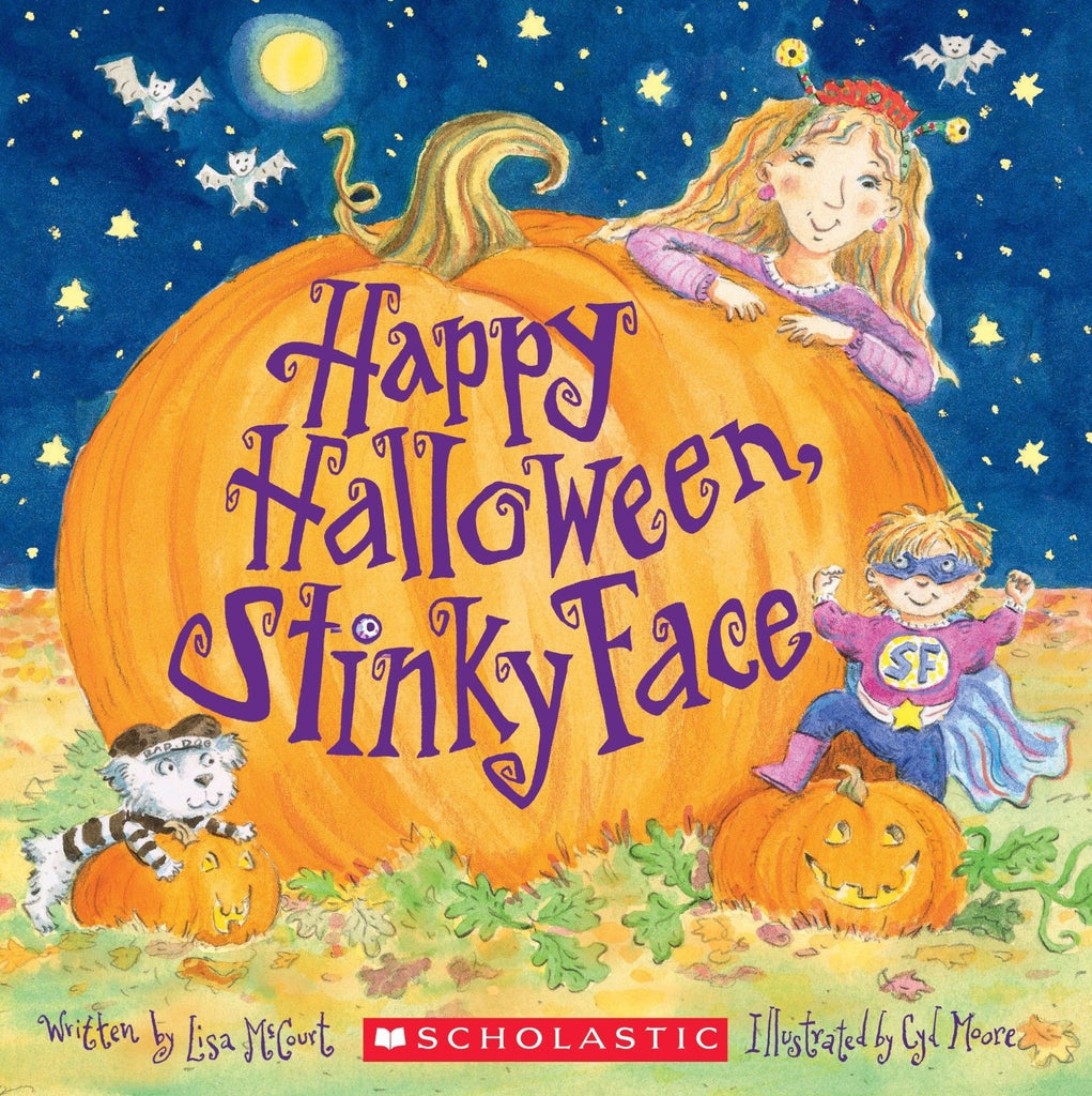 Happy Halloween,Stinky Face Action&Adventure by Lisa Mc Court ...