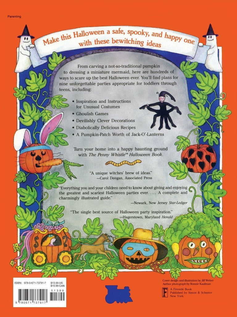 The Penny Whistle Halloween Book by Meredith Brokaw [Paperback ...