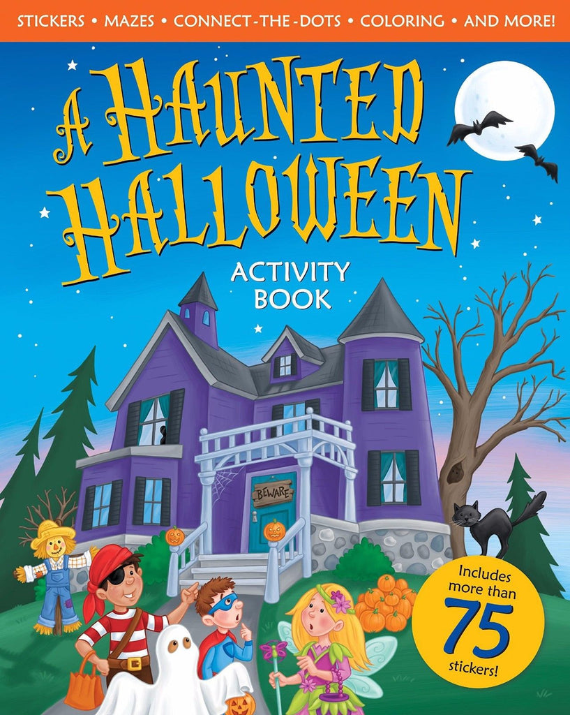 A Haunted Halloween Activity Book by Peggy Schaefer [Paperback ...