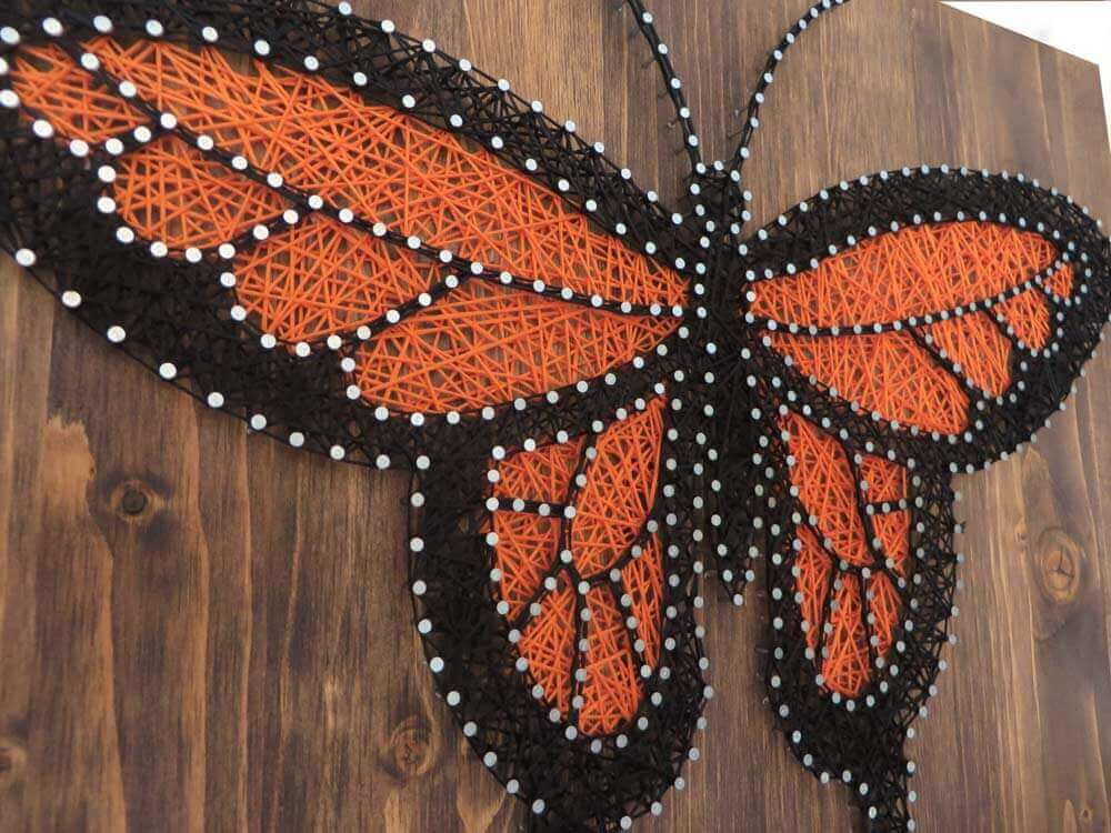 4 Mental Health Benefits of String Art